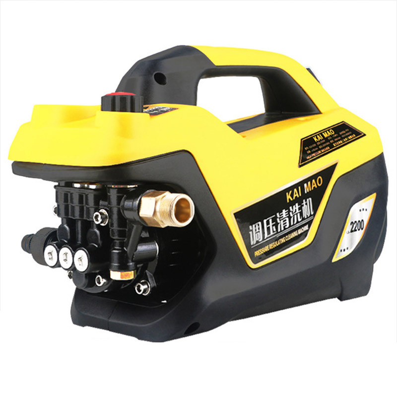 Adjustable Pressure Household Car Washing Machine 220V Small Automatic Induction Water Gun High Pressure Cleaning Tool Equipment