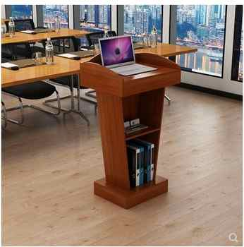 Lecture Desk, Lecture Desk, Simple Modern Welcome Desk, Reception Desk, Master of Arts Desk, Shopping Guide Desk, Hosting Desk