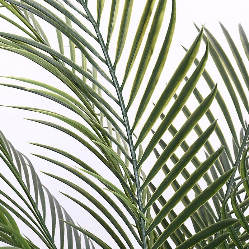150 Green GreenBrokers Artificial Premium Palm Tree in Black Plastic Pot 5ft//150cm