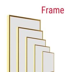MEIAN DIY modern art Aluminum Frame for canvas diamond painting custom painting factory provides diy frame art crafts home decor