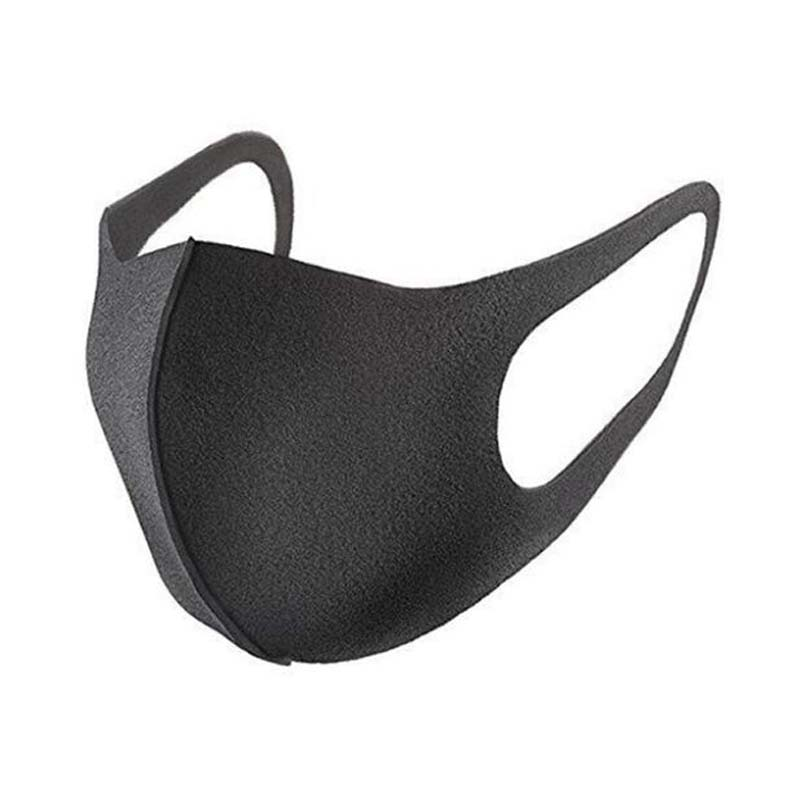 1pcs Black Prevent Dust Haze Breathable Children Masks Same Style Stars Bamboo Charcoal Women Men Ice Silk Mouth-muffle