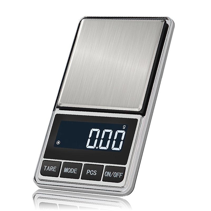 Цифровые карманные весы точные ювелирные весы грамм вес для кухонных ювелирных изделий баланс веса-0