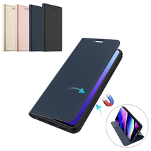 For Wiko View 3 View 3 Lite Case Leather Flip Stand Protective Case with Card Slot Cover for Wiko Y80 View 3 Case Card Luxury