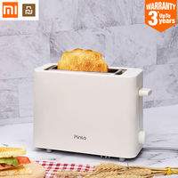 XIAOMI MIJIA Youpin Mini Toaster Pinlo PL T050W1H toasters oven baking kitchen appliances fast breakfast bread sandwich maker