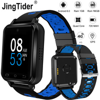 Upgraded Q2 FDD LTE 4G Smart Watch 1GB/16GB MTK6737 Quad Core 1.54 Wrist Watch Phone 720 mAh Android 6.0 Heart Rate Monitor