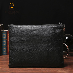 Image 4 - Super soft leather hand bag simple lady bag washed leather cross body bag