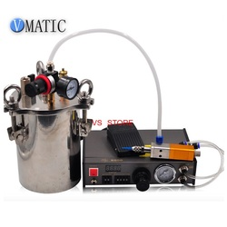 Free Shipping Automatic Dispensing Suction Valve Glue Dispenser Pneumatic Controller Stainless Steel Pressure Tank