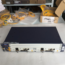 100% חדש מקורי ZTE OLT ZXA10 C320 2U אופטי קו מסוף ציוד, GPON 1GE SXMA A10 * 2 כרטיס עם DC אספקת חשמל
