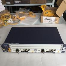 100% neue Original ZTE OLT ZXA10 C320 2U Optical Line Terminal Ausrüstung, GPON 1GE SXMA A10 * 2 karte mit DC power versorgung