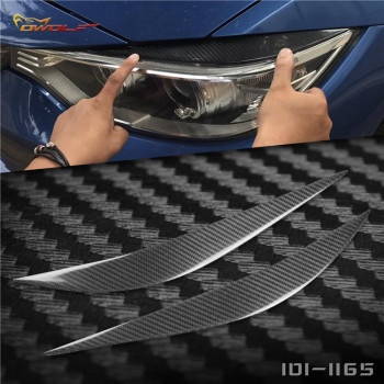 For BMW M3 M4 F80 f82 f83 4 series 430I modified carbon fiber lamp eyebrow lamp eyebrow image