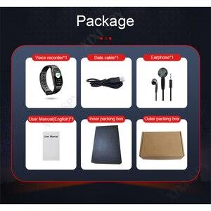 Image 5 - XIXI SPY Voice Dittafono del registratore audio mini audio professionale micro digital attivato braccialetto di vigilanza MP3