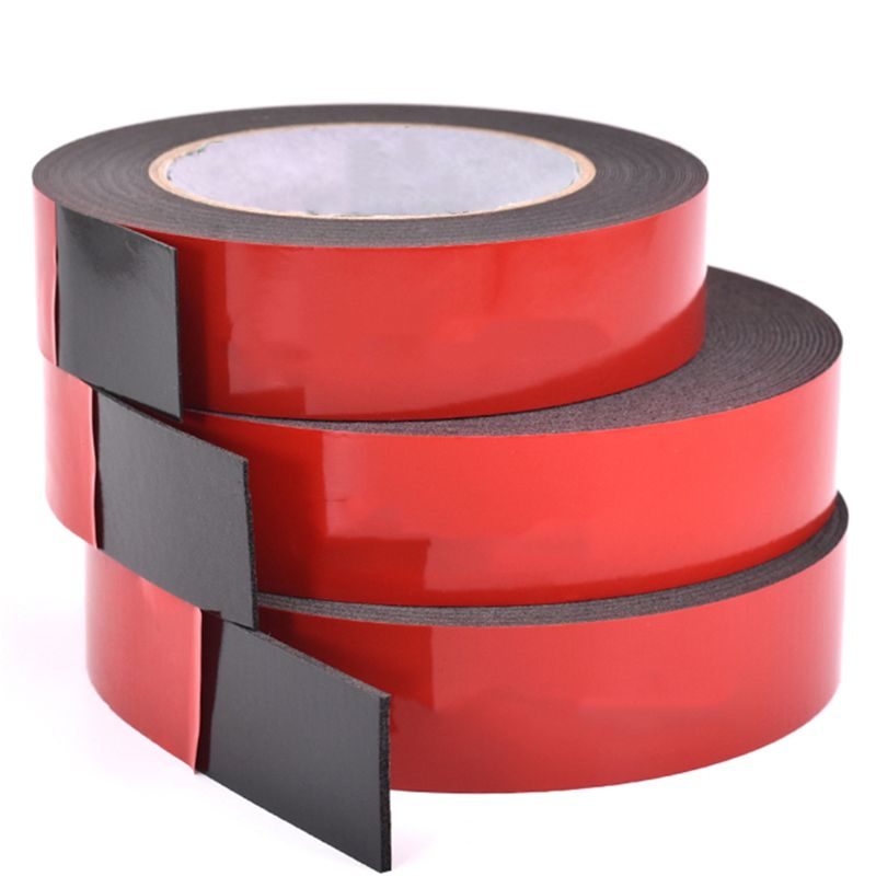 3/5 Cm PE Foam Double-Sided Adhesive Tape -Outdoor And Indoor Super Strong Foam Seal Strip For Automotive Mounting Weatherproof