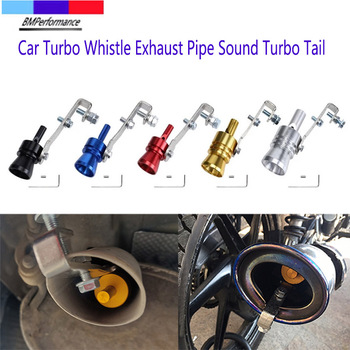 Car Turbo Whistle Exhaust Sound Muffler Pipe Tail Tip For Bmw E36 E46 E90 E91 E92 E93 E81 E82 E87 E88 E34 E39 E60 E61 E84 E83 Z4 image