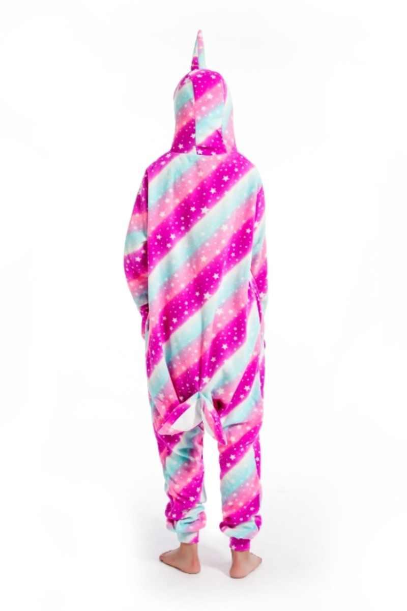 Kigurumi, pijamas de cielo estrellado para adultos, disfraz de Cosplay de tiburón, Onesie, Lemur, ropa de dormir, pijamas Unisex, ropa de fiesta