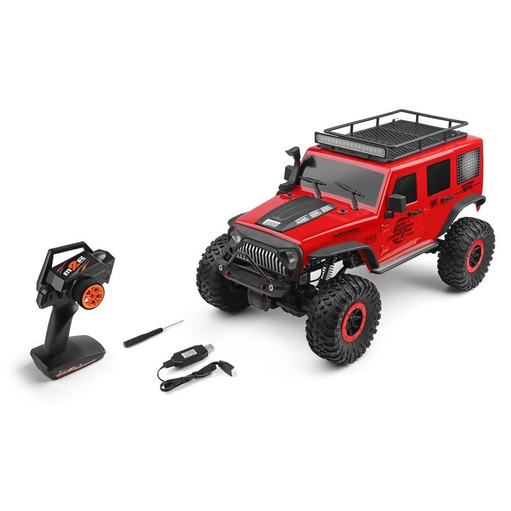 104311 RC samochód 2.4G 1/10 4WD samochód terenowy SUV szczotkowany silnik zdalne roboty pojazd terenowy zabawki samochodów wspinaczkowy|Samochody RC|   - AliExpress