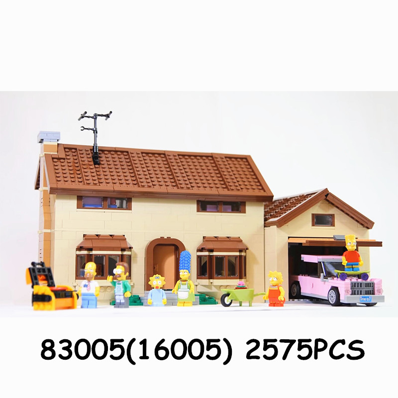 16004 the Kwik E Mart Building Blocks Movie Series Toys Bricks Compatible 71016 71006 16005 the Carton House-in Blocks from Toys & Hobbies    2