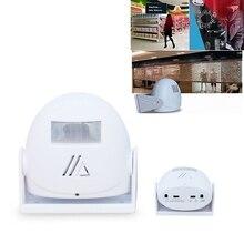 Welcome Alarm Doorbell Infrared Sensor Body Induction&Direct