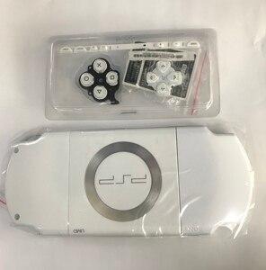 Image 3 - Miễn Phí Vận Chuyển Màu Đen Full Nhà Ở Vỏ Dán Mặt Lưng Ốp Lưng Sửa Chữa Thay Thế Cho Sony PSP 2000 2006 Tay Cầm Vỏ Có Nút Bấm