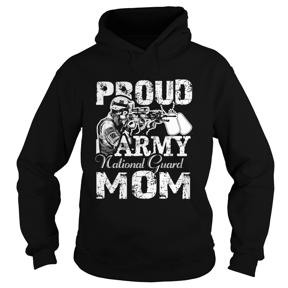 Proud Army National Guard Mom Unisex Hoodie