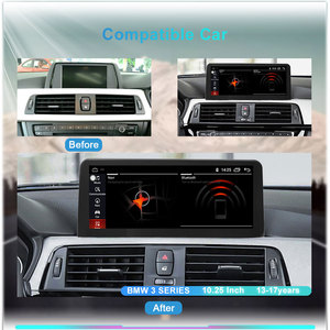 Image 3 - 8 Core Snapdragon Android 10.0 System Car Radio For BMW 3 Series F30 F31 F32 F33 F34 F36 GPS Navi Stereo WIFI 4G LTE 4+64G RAM
