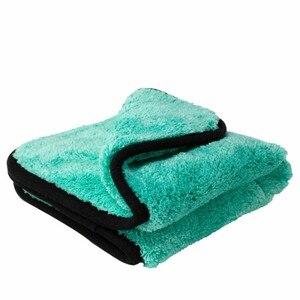 Image 4 - 1200GSM mikrofiber havlu araba yıkama Premium kalın peluş araba detaylandırma yıkama temizleme parlatma bezi havlu özel araç kurutma havlusu