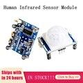 1/2/3 штук человеческие инфракрасный Сенсор модуль HC-SR501 высокая чувствительность PIR модуль движения Сенсор детектор модуль для приложение ...