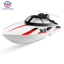 Wltoys WL912-A high simulation remote control boat type wireless high speed 2.4G remote control boat anti-tip Rc speedboat(China)