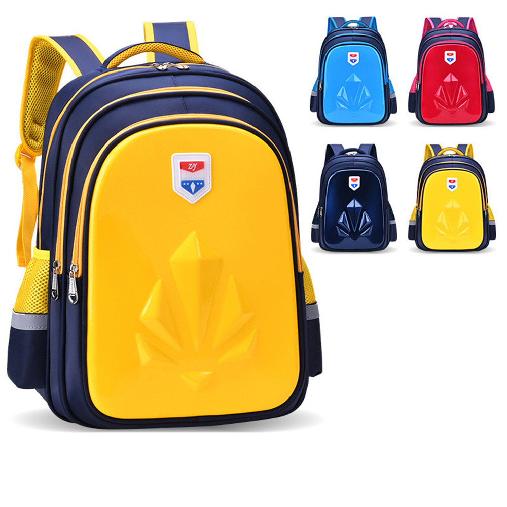 2020 New Children Cute Cartoon Nylon Waterproof Backpack Boys Primary Schoolbag Kids Hard Shell Book Backpacks Mochila Infantil