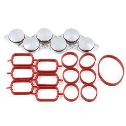 6x22mm olej napędowy klapy zawirowujące gumowe zaślepki zamienne do BMW z kolektora dolotowego uszczelki dla BMW 320d 330d 520d 525d 530d w Kolektor dolotowy od Samochody i motocykle na