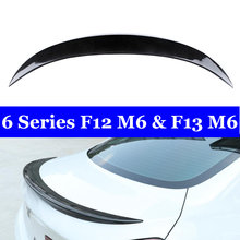 M6 Styling Carbon Fiber Rear trunk Wing Lip Spoiler For BMW 6 Series F12 F13 2011-2018