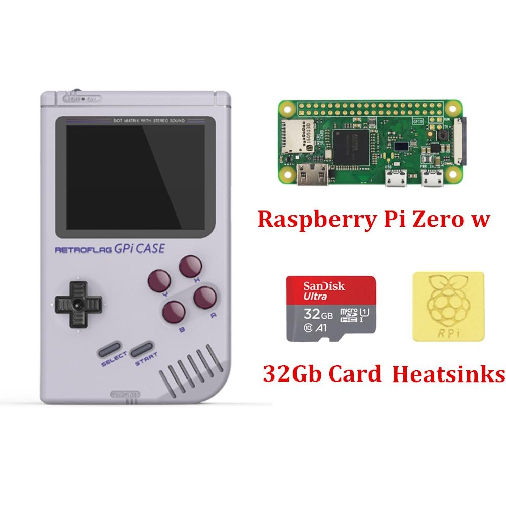 Em estoque novo lançado retroflag gpi caso gameboy para raspberry pi zero e zero w com desligamento seguro