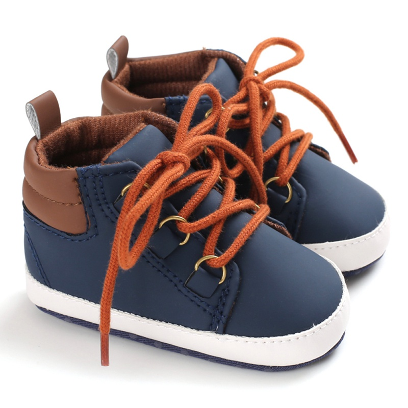 Boy Shoes Sole Soft Canvas First Walkers Solid Footwear For Newborns Toddler Moccasins Baby Shoes