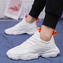 Breathable anti-collision mens running shoes Comfortable warm outdoor walking in autumn and winter