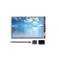 Waveshare 3.5 polegada hdmi lcd monitor de tela sensível ao toque 480x320 resolução interface hdmi ips tela projetado para raspberry pi