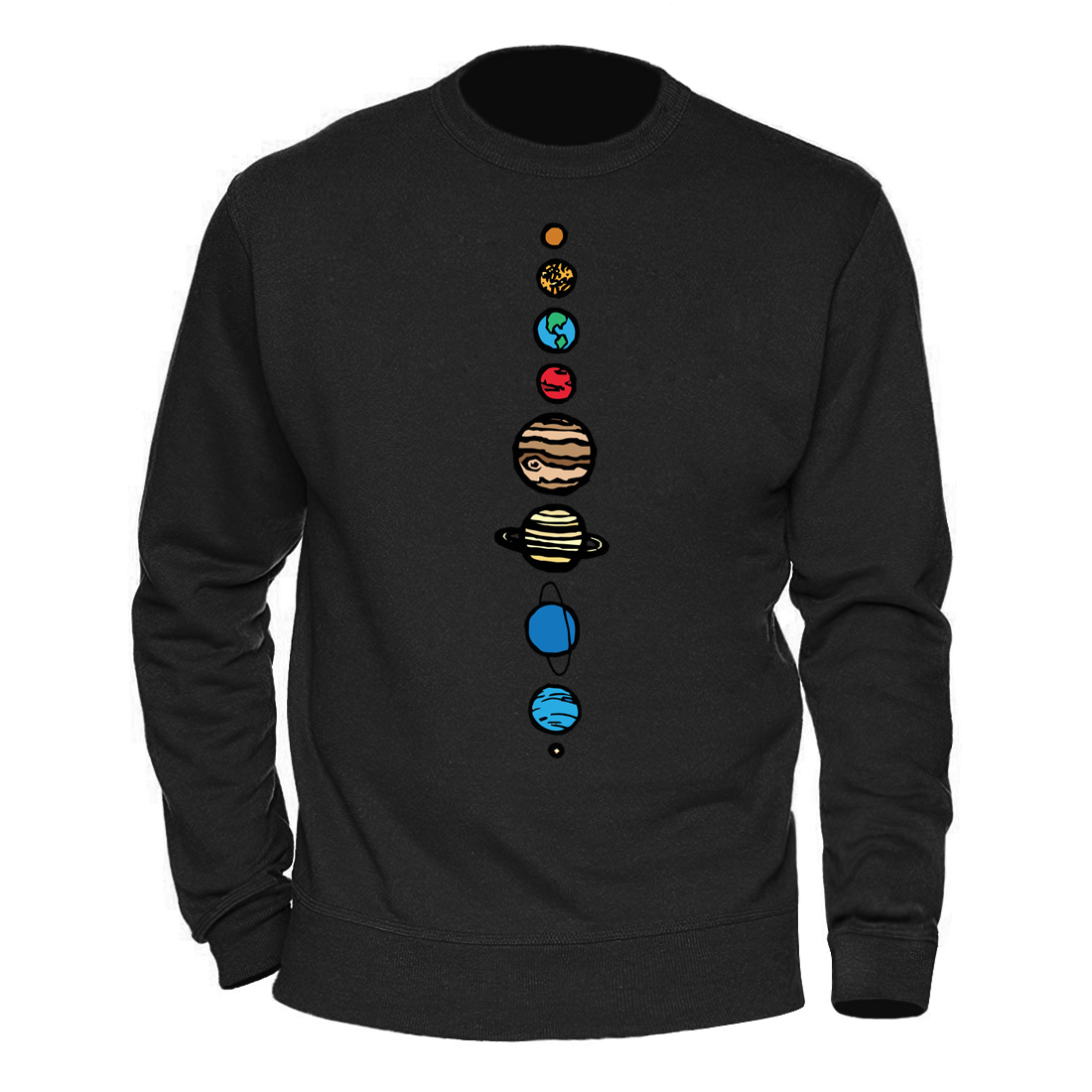 Male Clothing Solar System Planets Colour Hoody 2020 Keep Warm Winter Spring Sweatshirts Mens Casual Streetwear Harajuku Hoodies