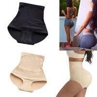 Einteiliges Nahtlose Körper Gestaltung Boxer Hüften Plus Padded Gefälschte Gesäß Anziehen Bauch Körper Gestaltung Damen Hohe Taille Höschen