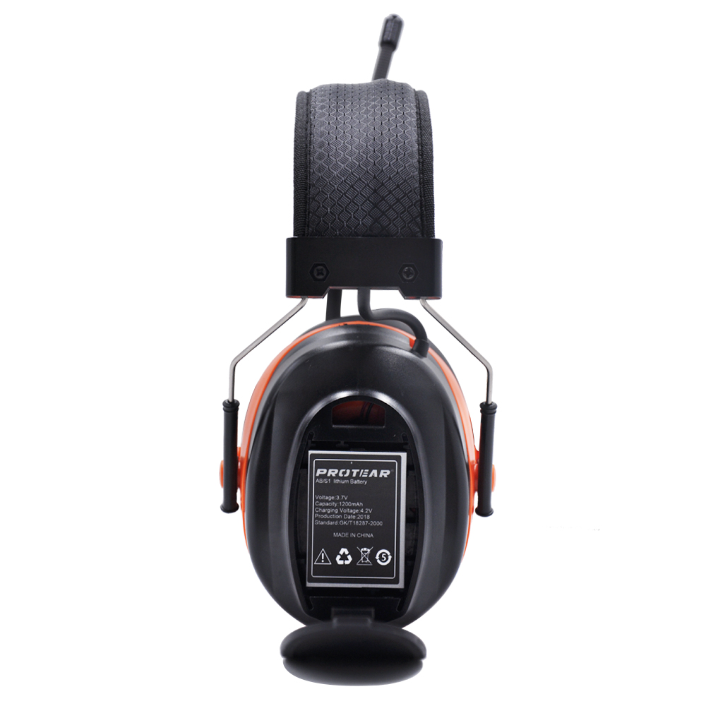 Image 4 - Protear DAB+/DAB/FM Radio Hearing Protector 25dB Lithium Battery Earmuffs Electronic Bluetooth Headphone Ear Protection-in Ear Protector from Security & Protection