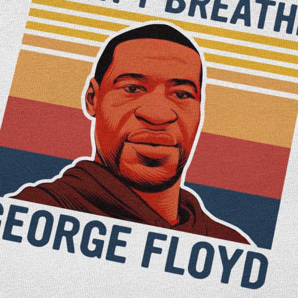 T-shirt I can't breathe George Floyd Créer Son T Shirt