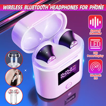 Wireless bluetooth 5 Headphones for Earpods Apple iPhone Android Stereo Wireless