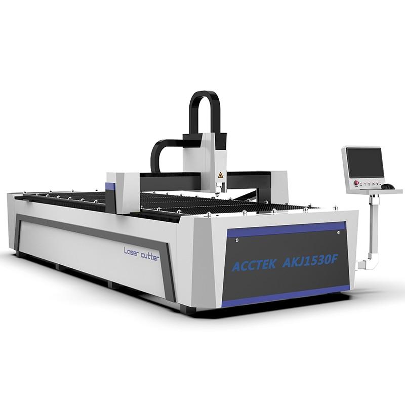 CNC Fiber Laser Cutting Machine For Metal Sheet Steel Laser Cutter Machine 1500*3000mm Cheap Price