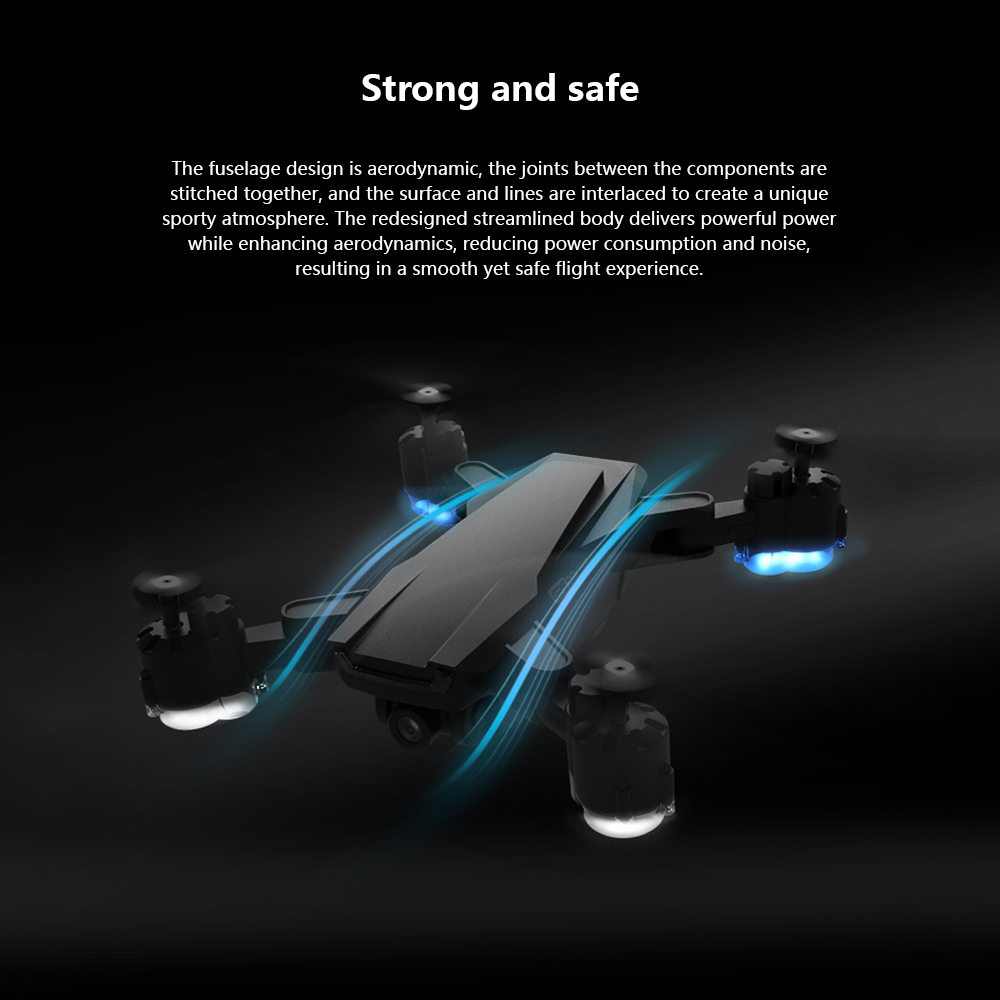 SHAREFUNBAY Drone GPS 5G WIFI and 4K HD wide-angle camera FPV Drone X Pro Quadcopter 4