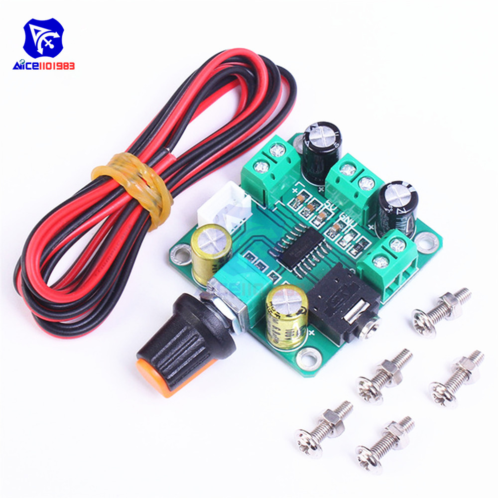 Diymore PAM8403 Digital Stereo Amplifier Board Module Dual Channel 2*3W DC 5V With Volume Adjustable Rotary Potentiometer