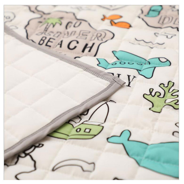 Creative Adventure Map Mat Baby Game Mat Toy Baby Room Crawling Mat Folding Mat Baby Anti-fall Carpet Air Conditioning Quilt