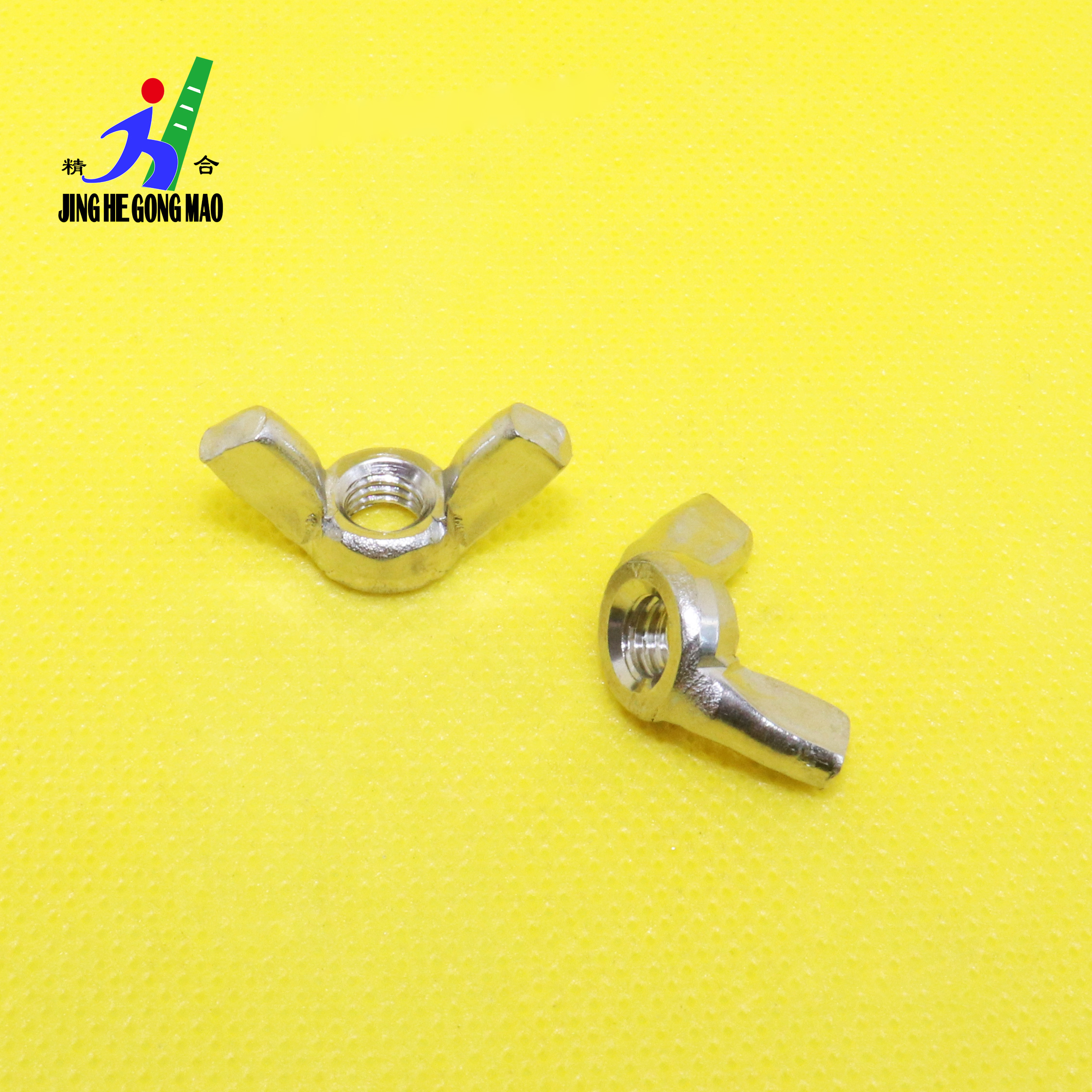 M3 M4 M5 M6 M8 M10 DIN315 304 Stainless Steel Wing Nuts Hand Tighten Nut Butterfly Nut Ingot SUS304 Crocheted 3MM 4MM 5MM 6MM