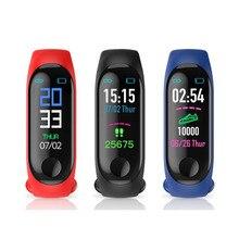 M3 Smart Band Wristband Health Heart rate/Blood/Pressure/Heart Rate Monitor/Pedometer Sports Bracelet Fitness tracker