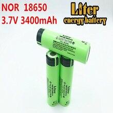 리터 에너지 배터리 10 pcs 100% 원래 18650 3.7 v 3400 mah 배터리 nor18650b 리튬 이온 rechargebale 배터리