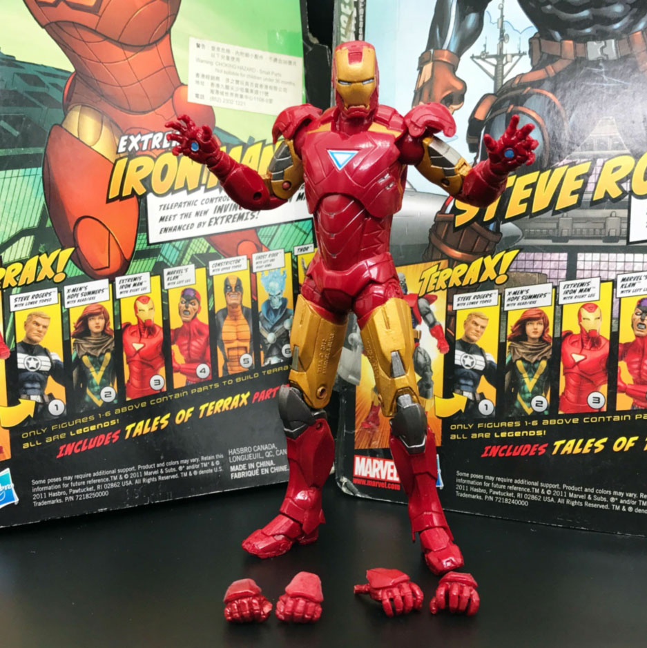 "Marvel Age of Ultron Avengers Iron Man MK43  9/"" Loose Action Figure"