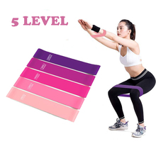 Yoga Crossfit Resistance Bands 5 Level Rubber Training Pull Rope For Sports Pila