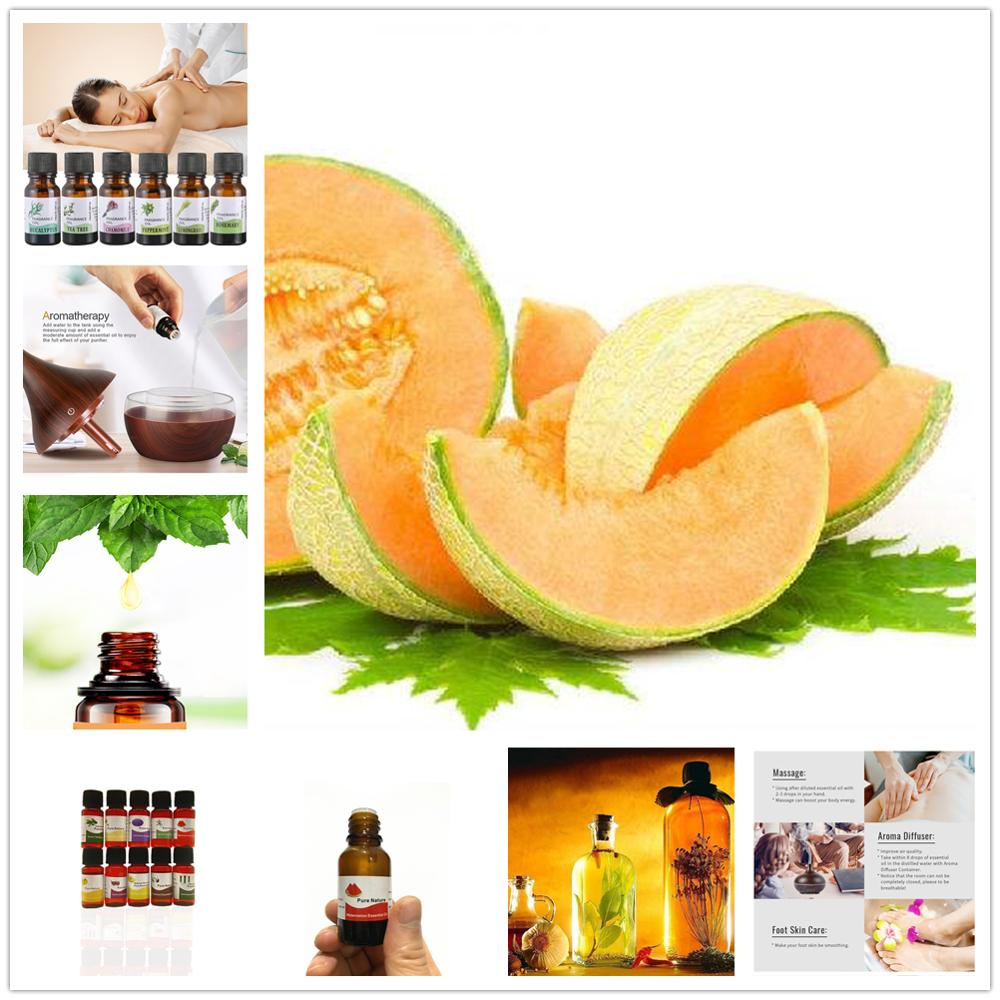 10ml Essential Oils For Aromatherapy Diffusers Hami Melon Essential Oils Relieve Stress For Body Massage Relax Skin Care TSLM25