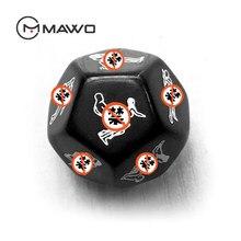 MAWO 12 taraf seks zar seks çiftler için oyuncaklar yetişkin oyunları erotik zar aşk Bar eğlenceli yenilik parti hediye ışıklı yüksek kaliteli